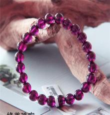 天然玫紅石榴石 手鏈 女性的優選 美容養顏 提升魅力 緣美珠寶