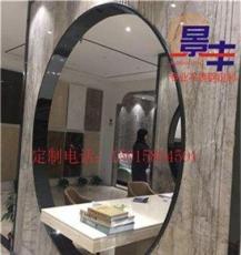 不锈钢黑镜钢圆形洞口包边条不锈钢弧形收边条定做
