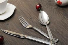 酒店专用不锈钢餐具 西餐刀叉套装 汤更 水果叉 牛排刀