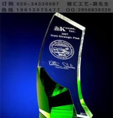 陽泉企業年終優秀員工水晶獎杯定做 太原大同陽泉水晶獎杯廠家