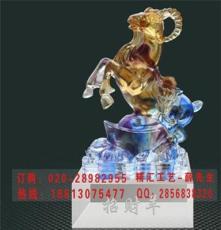 鄭州銀行答謝會紀念品定做 鄭州羊年水晶禮品 鄭州銀行羊年禮品
