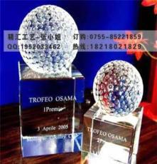 供應高爾夫水晶球,深圳水晶球紀念品定制,高爾夫球紀念品