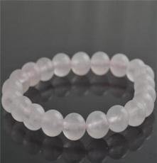 kisvi珠寶品牌純天然粉晶手鏈彈力繩粉晶手工女款簡約手鏈