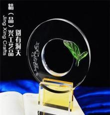 廣州企業周年慶典禮品廠家定做 商務合作水晶紀念品訂制