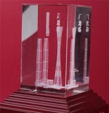 2013年受歡迎廣州塔授權生產紀念品 水晶會議擺件品