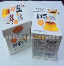 韓國巧媽媽果町新語雞蛋布丁優酪果凍魔盒裝264克/盒*12盒/箱