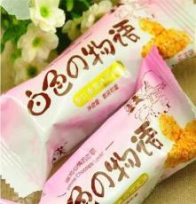 新品 正品宏芙白色物语 果仁香脆白巧克力 蛋黄味 花生味 8斤一箱