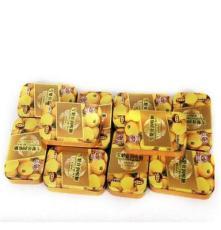 食品廠家供貨 四川特產 雪梨膏潤喉糖(枇杷味) 鐵盒裝