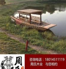 福建周氏木業供應8M旅游餐飲帆船畫舫船出售定制