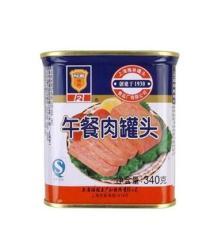 正品梅林午餐肉罐頭 休閑食品 涮火鍋 早餐吃面包必備