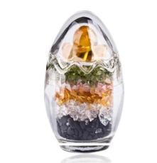 廣州廠家直供 五行碎水晶蛋 調節室內風水氣場保健康 一件代發