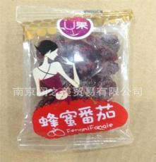 休閑零食品批發 U果 蜂蜜番 茄圣女果 果干蜜餞 10斤一箱