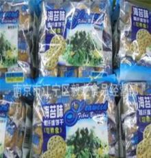 熱銷產品 鴻達 海苔味粗纖維餅干 500g/包 18包一箱