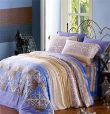 家纺厂家直销 天丝印花婚庆四件套床品批发 特价促销专柜正品