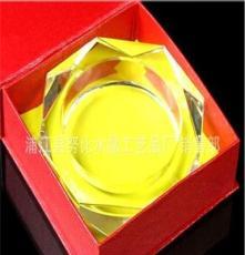 努比水晶廠家直銷水晶老八角煙灰缸 品質優等 酒店專用品