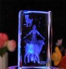 首家水晶內雕工藝品 水晶禮品 水晶工藝品登場 十二星座之白羊座