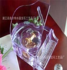廠家供應水晶鋼琴,紫色鋼琴音樂盒(支持支付寶交易,一件起發)