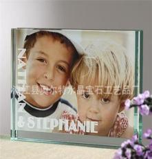供應 精美 水晶情侶禮品 水晶影像 可根據客戶照片訂做影像