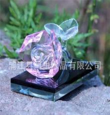 玫瑰花水晶香水瓶批发,情侣赠品、婚礼纪念品