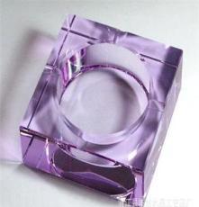 專業 供應2012款水晶煙灰缸 水晶酒店用品 水晶煙缸 量大價優