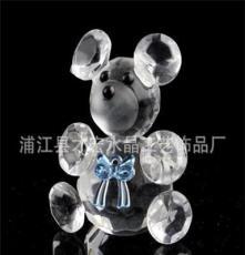 浦江廠家供應各種k5水晶產品 水晶熊