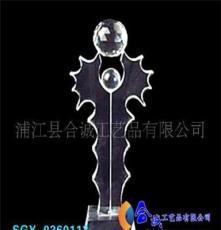 浦江水晶獎杯 玻璃獎杯 水晶工藝品獎杯系列 廠家水晶特銷