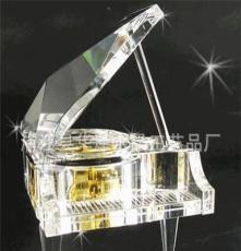 水晶工藝禮品 水晶禮品 高檔水晶音樂鋼琴