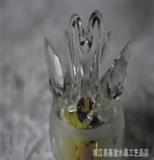 創意水晶天鵝 結婚禮物創意實用家居裝飾品新婚房擺件