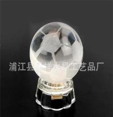 水晶足球 水晶禮品 廣告促銷禮品 足球隊禮品