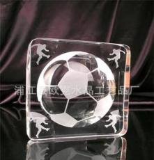 [廠家2012年新款]水晶足球禮品。水晶高爾夫球紀念品