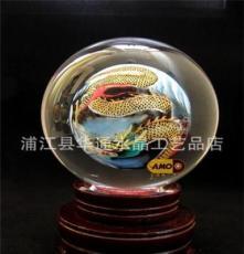 熱銷 水晶內畫十二生肖球 水晶氣泡球 品質一流 色彩鮮艷
