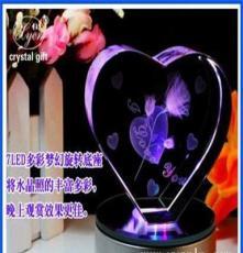 玫瑰花 水晶玫瑰花內雕 玫瑰花女朋友禮品 情人節禮品