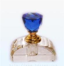 供應 精美立體美水晶香水瓶 汽車香水座 車載香水瓶批發