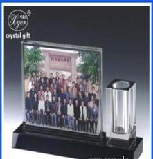 供應水晶筆筒 供應水晶三件套 水晶內雕禮品訂制 廠家直銷