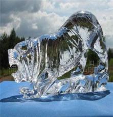 專業生產 水晶老虎 手工雕刻動物 定制規格款式 動物模型