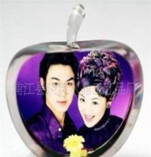 專業生產 水晶彩像 影像 白胚 個性定制,熱銷產品 結婚照片