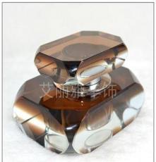 熱銷K9水晶汽車香水座廠家直銷高檔汽車香水瓶汽車擺飾一件代發