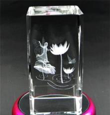 水晶音乐盒七彩旋转 创意生日礼品 结婚礼物情人节送女友礼品包邮