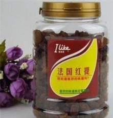 香港愛萊客涼果法國紅提300g*24罐/箱 進口食品批發