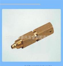 優質推薦供應氣閥連接螺柱 高強度六角銅螺柱加工定制