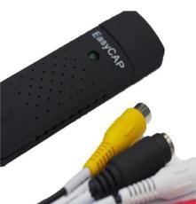 厂家直销EasyCAP USB视频采集卡 监控视频采集卡 一路采集