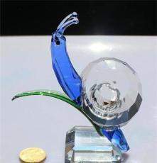 仿真小动物摆件 水晶蜗牛 学生生日礼物 创意造型 多款可选可混批
