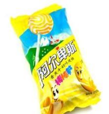 不凡帝 糖果 阿尔卑斯糖果 200g香蕉牛奶味硬糖棒棒糖
