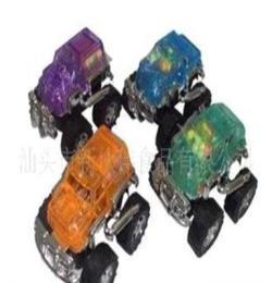 (廠家直銷)0478真伙伴盒裝回力透明越野車(不帶后箱)玩具糖果