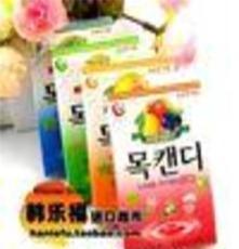 韓國 樂天水果味潤喉糖 多種水果的味道 進口糖果 粉色 42g