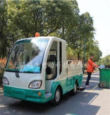 上海6桶电动垃圾保洁车价格,双人垃圾清运车