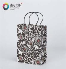 2015年 溫州 廠家專業直銷 黑白花紋手提袋小號 紙袋