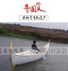 供應MY-024貢多拉游玩船廠家專業制 情侶手劃船游玩木船批發