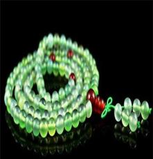 靜雅飾品 108顆天然葡萄玉手鏈批發 夏季珠寶天然寶石水晶