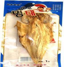 韓味明太魚單條帶頭小開板干制水產品